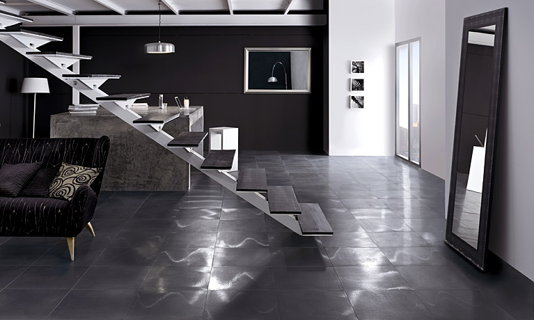 Rustic metal acero   a glam metal effect tile. Floor Tiles   Country Tiles